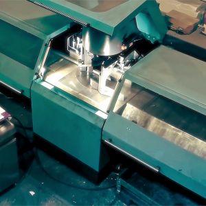Kaltenbach KKS 463 – Vollautomatische Universal-Kreissäge für Materialien bis ⌀153mm, seit 2016 bei uns in der Produktion